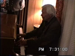 Walter At The Piano Video